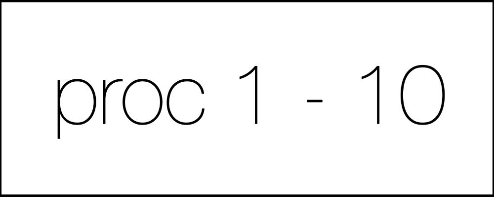 Решение задач. День шестнадцатый. Proc1-10
