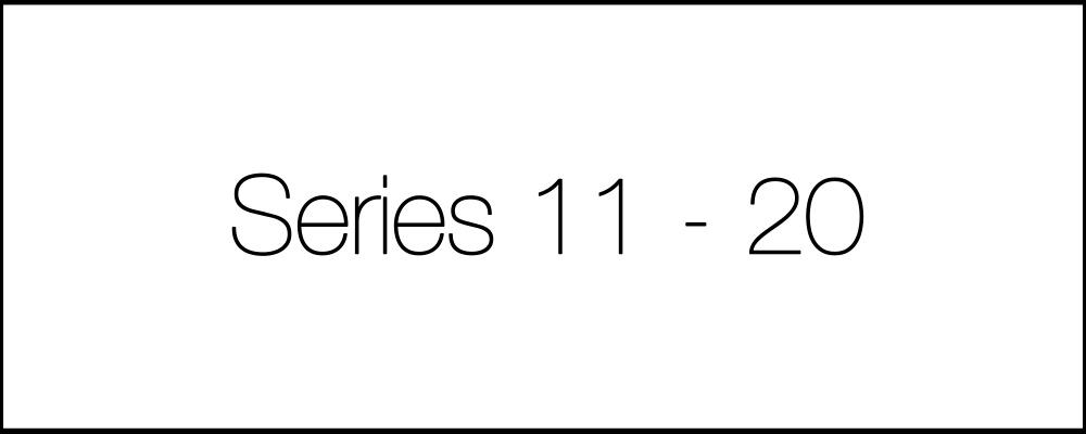 Решение задач. День четырнадцатый. Series11-20.