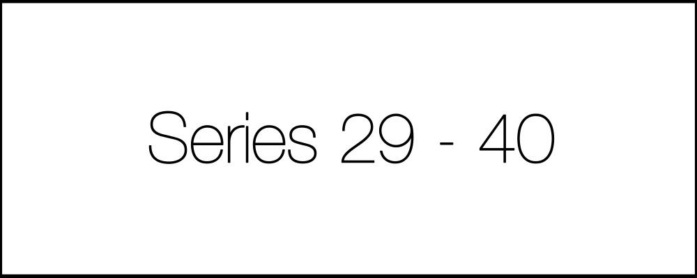 Решение задач. День двадцатый. Series29-40