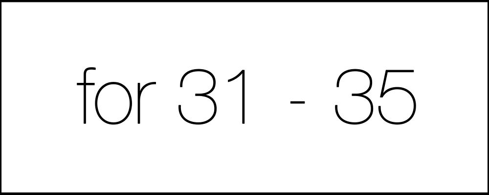 Решение задач. День двадцать первый. For31-35.