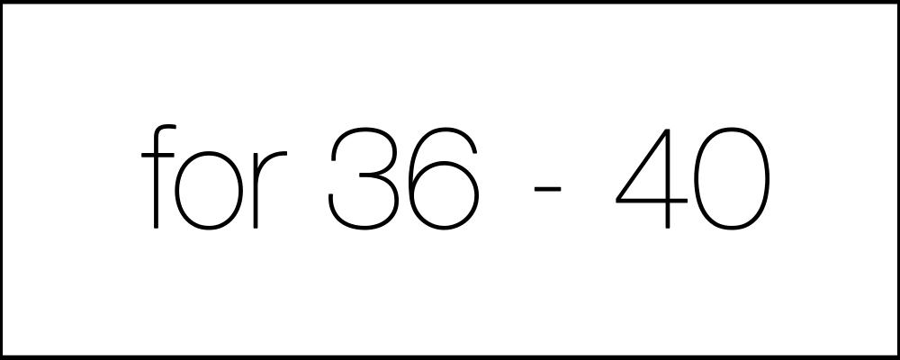 Решение задач. День двадцать второй. For36-40.