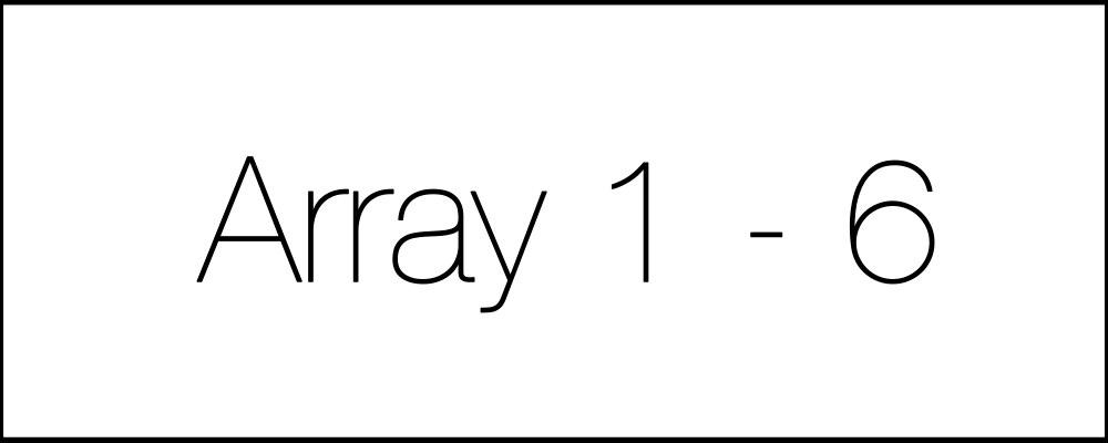 Решение задач. Array1-6