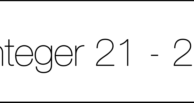 integer21-25